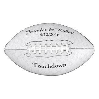 Fútbol de encaje del personalizado del boda de la balón de fútbol americano
