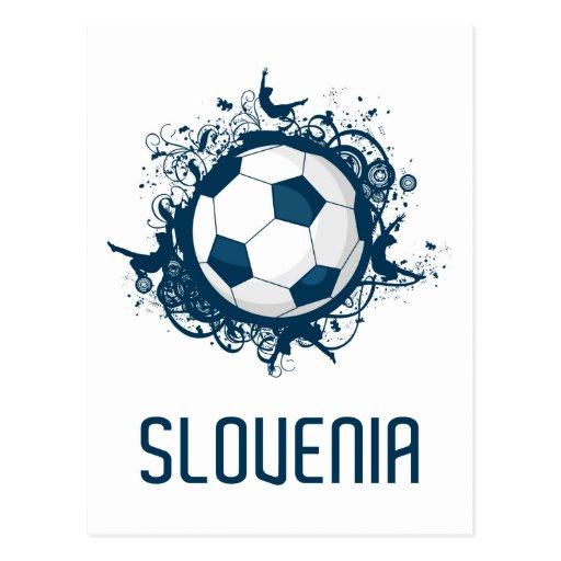 Fútbol de Eslovenia Postal