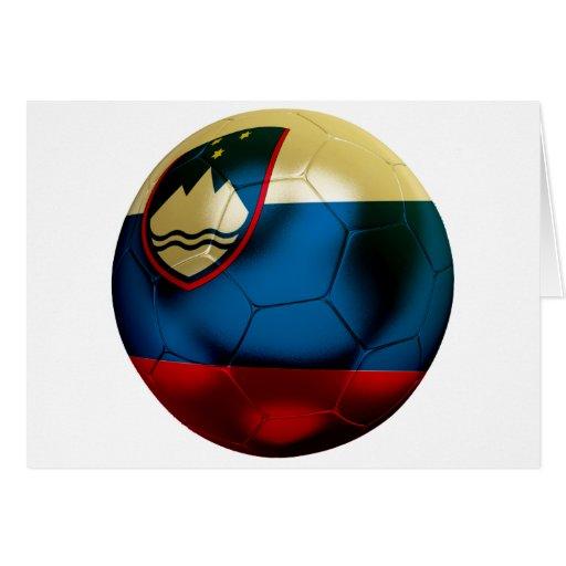 Fútbol de Eslovenia Tarjetón