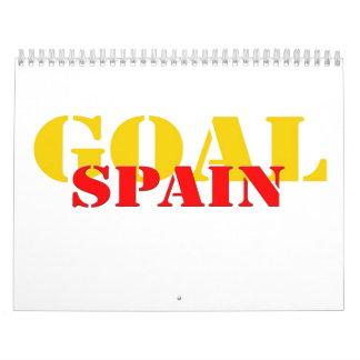 Fútbol de España Calendarios De Pared