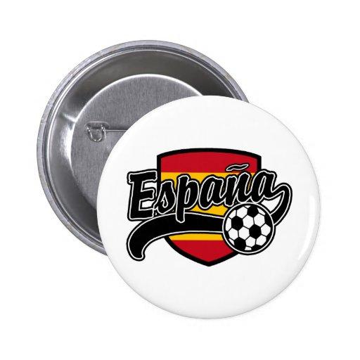 Fútbol de Espana Pin
