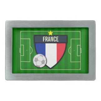 Fútbol de Francia Hebilla De Cinturon
