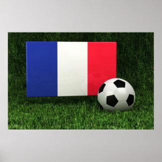 Fútbol de Francia Póster