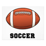 Fútbol de Futball del fútbol Tarjetas Informativas