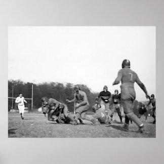 Fútbol de Gallaudet: 1923 Posters