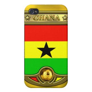 Fútbol de Ghana iPhone 4/4S Funda