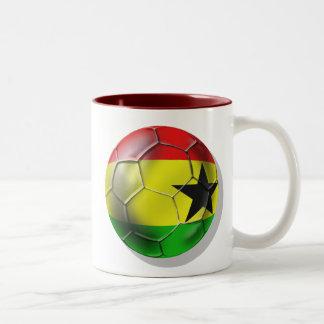 Fútbol de Ghana Taza De Café