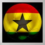 Fútbol de Ghana Poster