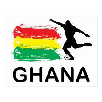 Fútbol de Ghana Tarjetas Postales