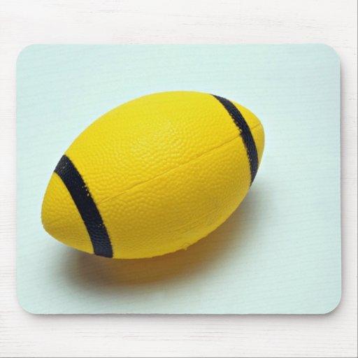 Fútbol de goma tapetes de ratones