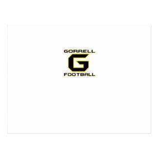 Fútbol de Gorrell Gorrillas Postal