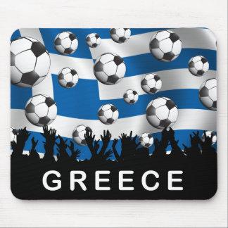 Fútbol de Grecia Tapetes De Ratón
