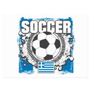 Fútbol de Grecia Postal