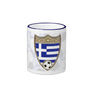Fútbol de Grecia Taza A Dos Colores