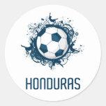 Fútbol de Honduras Etiquetas Redondas