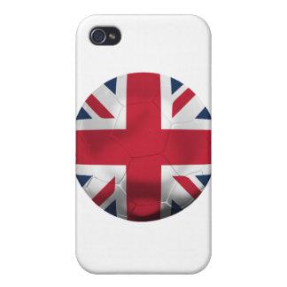 Fútbol de Inglaterra iPhone 4/4S Fundas