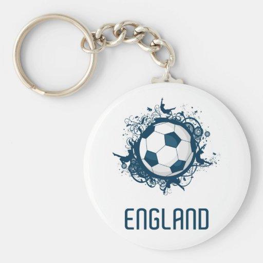 Fútbol de Inglaterra Llaveros