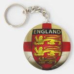 Fútbol de Inglaterra Llaveros Personalizados