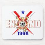 Fútbol de Inglaterra Mousepad 1966 Alfombrilla De Raton