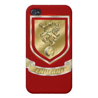 Fútbol de Inglaterra - regalo del fútbol de bander iPhone 4/4S Fundas