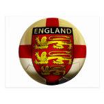 Fútbol de Inglaterra Tarjetas Postales