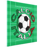 Fútbol de Italia Calcio Italia Impresiones En Lona
