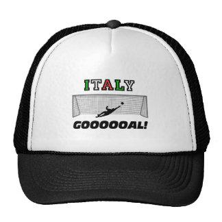 Fútbol de Italia Gorra