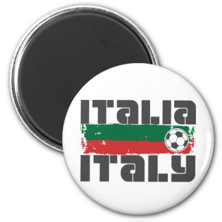 Fútbol de Italia Imán Redondo 5 Cm