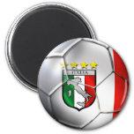 Fútbol de Italia Imán De Frigorífico