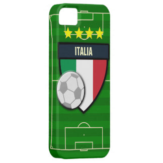 Fútbol de Italia Italia Funda Para iPhone 5 Barely There