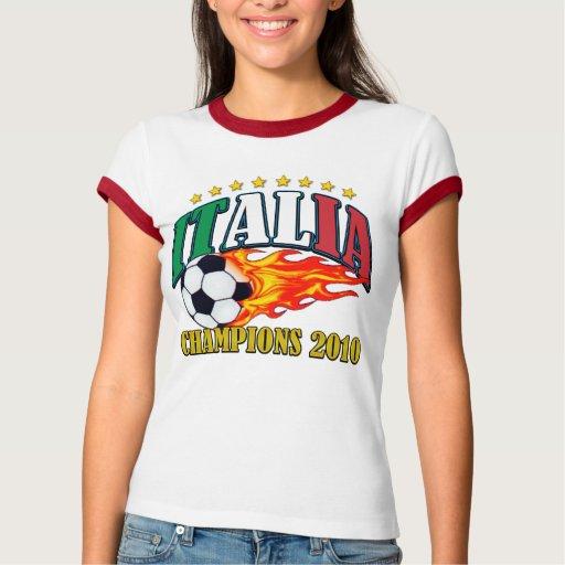 Fútbol de Italia Playeras