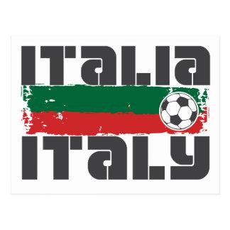 Fútbol de Italia Tarjetas Postales