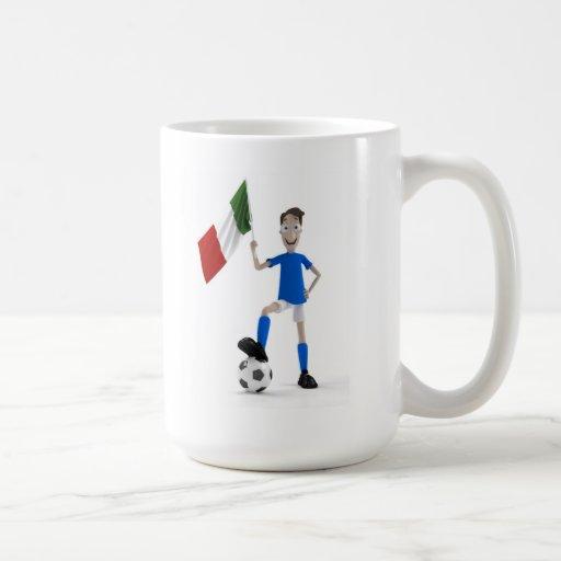 Fútbol de Italia Taza De Café