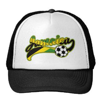 Fútbol de Jamaica Gorros Bordados