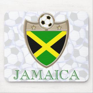 Fútbol de Jamaica Tapetes De Ratón