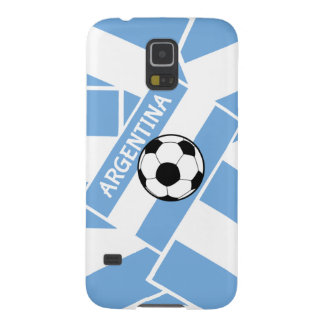 Fútbol de la Argentina Carcasa Galaxy S5