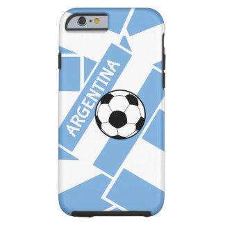 Fútbol de la Argentina Funda De iPhone 6 Tough