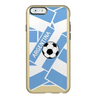 Fútbol de la Argentina Funda Para iPhone 6 Plus Incipio Feather Shine