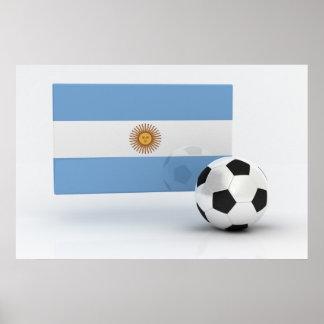 Fútbol de la Argentina Póster