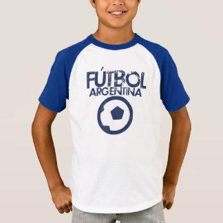 Fútbol de la Argentina retro Playera