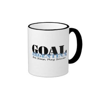 Fútbol de la Argentina Tazas De Café