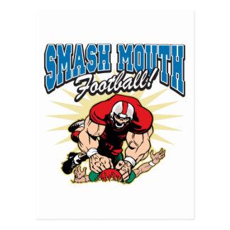 Fútbol de la boca del choque postal