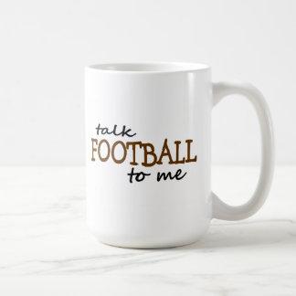 Fútbol de la charla a mí tazas