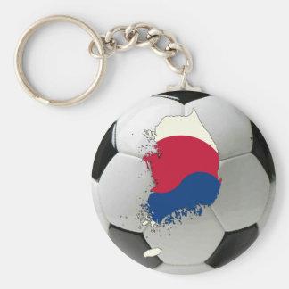 Fútbol de la Corea del Sur Llavero