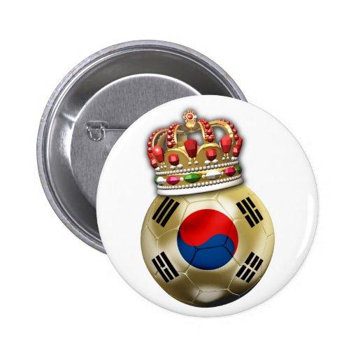 Fútbol de la Corea del Sur Pins