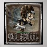 Fútbol de la escuela vieja poster