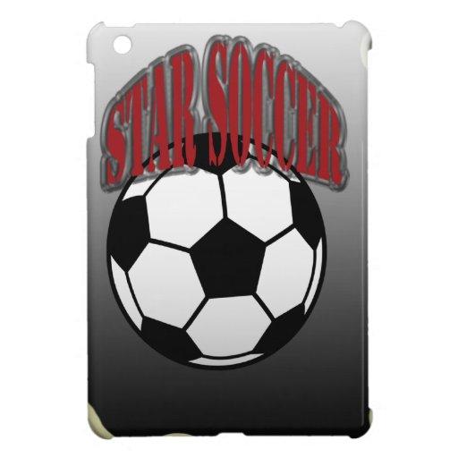 Fútbol de la estrella iPad mini cobertura