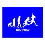 fútbol de la evolución postal