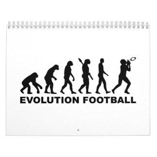 Fútbol de la evolución calendarios