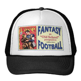 Fútbol de la fantasía de la escuela vieja gorra